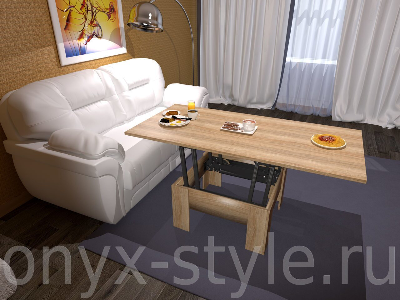 Столы трансформеры для гостиной 9 фотография